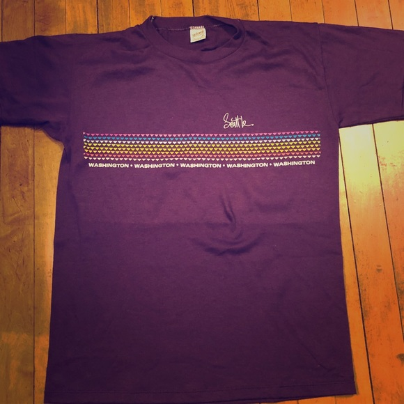 Seattle Other - Vintage Seattle Washington T-shirt Soft Thin